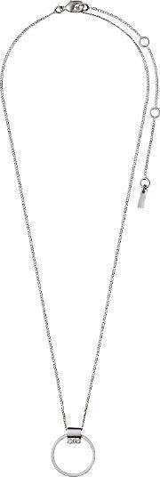 Pilgrim , Silver Plated Collarbone Necklace, Na