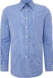 Ps By Paul Smith , Men's  Slim Check Shirt, Blue