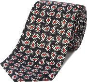 Ps By Paul Smith , Paisley Silk Tie, Navy