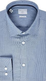 Selected Homme , Men's  Structured Long Sleeve Shirt, Light Blue
