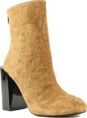 Shellys London , Lincoln Feature Ankle Boots, Brown