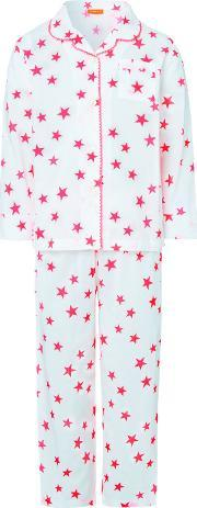 Sunuva , Girls Pop Star Pyjama Set, Hot Pink