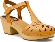 Swedish Hasbeens , Lacy Sandal Sandals, Natural