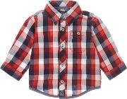 Timberland , Baby Boys Checked Shirt, Red