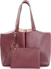 Warehouse , Darcy Reversible Tote Bag, Berry
