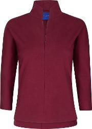 Winser London , Emma Miracle Zip Top, Red