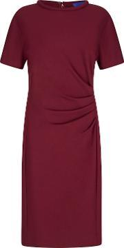 Winser London , Miracle Short Sleeve Dress, Red