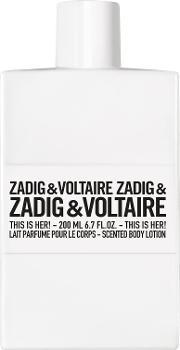 Zadig & Voltaire , This Is Her Body Lotion 200ml