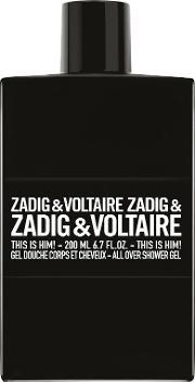 Zadig & Voltaire , This Is Him Shower Gel 200ml