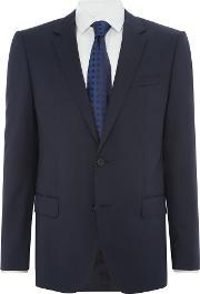 Hugo Boss , Men's  Hayes Slim Fit Notch Lapel Jacket, Dark Blue