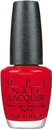 Opi , Nail Lacquer 15ml,  Red