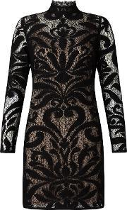 Adrianna Papell , Lace Dress, Multi Coloured