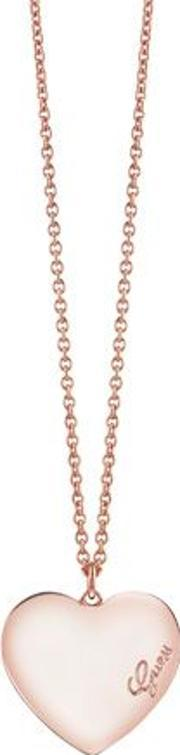 Guess , Rose Gold Plated Necklace, Na