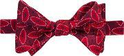 Thomas Pink , Crome Self Tie Bow Tie, Red