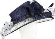 Snoxells , Lydia Down Brim Veil Occasion Hat