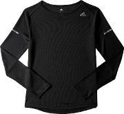 Adidas , Sequencials Climalite Long Sleeve Running Top