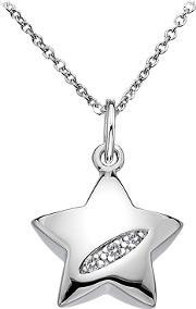 Hot Diamonds , Shooting Star Pendant Necklace