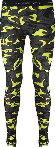 Human Performance Engineering Hpe , Men's Camouflage Training Tights