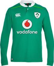 Canterbury Of New Zealand Rugby World Cup , Canterbury Of New Zealand Ireland Home Classic Long Sleeve Rugby Shirt