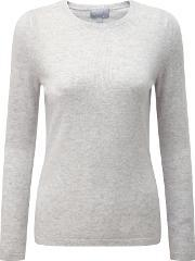 Pure Collection , Crew Neck Cashmere Jumper