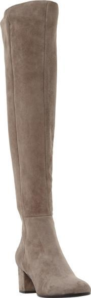 Dune Black , Soul Block Heeled Over The Knee Boots