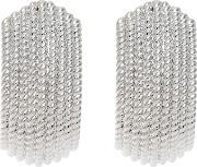 Finesse , Textured Clip On Earrings
