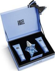 Mugler , Angel 25ml Eau De Parfum Fragrance Gift Set