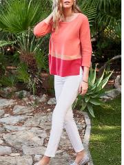 Pure Collection , Colour Block Relaxed Gassato Jumper