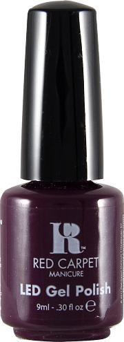 Red Carpet Manicure , Led Gel Nail Polish Purples & Blues Collection