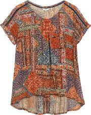 Fat Face , Zoe Moroccan Patch Top