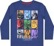 Star Wars , Episode 7 Grid Character T Shirt