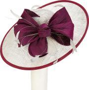 Snoxells , Millie Large Disc And Bow Occasion Hat