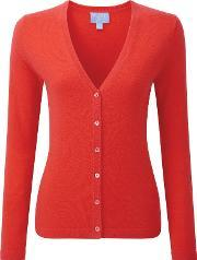 Pure Collection , Melissa Cashmere V Neck Cardigan