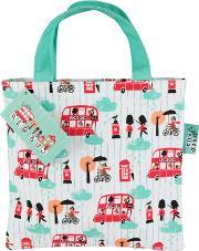 Red Bus , Little Tiny Tote