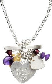 Chambers & Beau , Personalised I Heart Classic Necklace