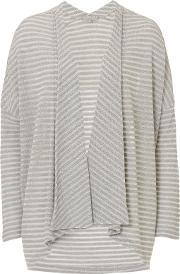 Betty & Co , . Long Striped Cardigan