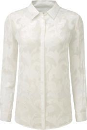 Pure Collection , Belford Jacquard Blouse