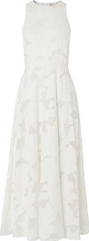 White , Carrie  Viscose Mix Dress