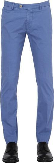 Berwich , 17cm Stretch Gabardine Chino Pants