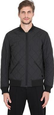 Adidas By Wings & Horns , Quilted Primaloft Bomber Jacket