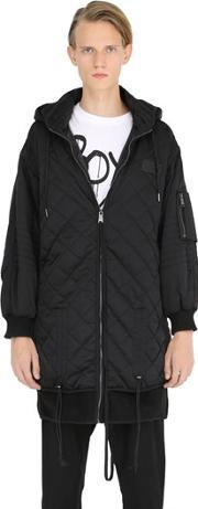Boy By Boy London , Oversized Quilted Nylon Jacket