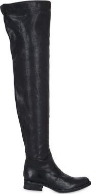 El Vaquero , 30mm Over The Knee Leather Boots