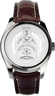 Armand Nicolet , Hs2 Watch With Alligator Band