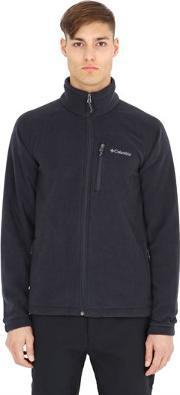 Columbia , Fast Trek Ii Nylon Zip Fleece Sweatshirt