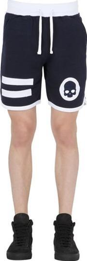 Hydrogen , Hockey Cotton Jogging Shorts W Patches