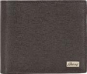 Brioni , Embossed Leather Classic Wallet