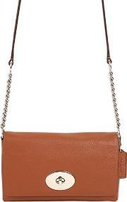 Coach Ny , Crosstown Leather Shoulder Bag