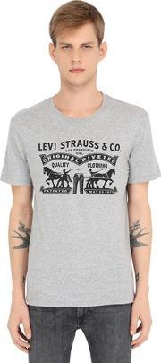 Levis Red Tab , Levi's 2 Horse Jersey T Shirt