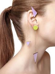 Sylvio Giardina , Collezione Three 3 Triangle Earrings