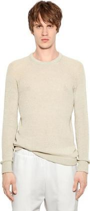 08 Sircus , Cotton & Cashmere Open Weave Sweater